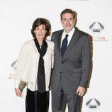 Rita Irasema y Emilio Aragón en la fiesta del 25 aniversario
