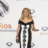 Nieves Herrero en la fiesta del 25 aniversario de Antena 3