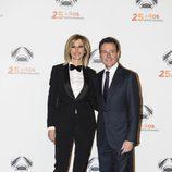 Susanna Griso y Matías Prats en la fiesta del 25 aniversario de Antena 3