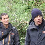 Bear Grylls junto a Ben Stiller