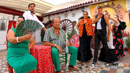Los Maya en 'Los Gipsy Kings'