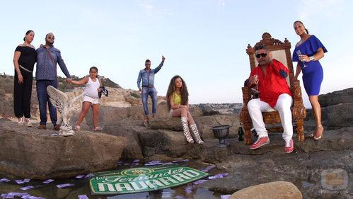 Los Fernández-Navarro en 'Los Gipsy Kings'