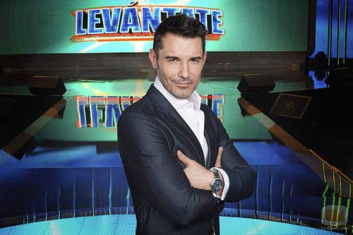 Jesús Vázquez, presentador de 'Levántate'