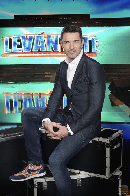 Jesús Vázquez, conductor de 'Levántate'