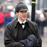 Benedict Cumberbatch en el especial de Navidad 2015 de 'Sherlock'