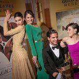 Los protagonistas de 'Física o química' juntos en Los Goya 2015