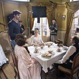Varios de los actores de 'Acacias 38' ruedan sus primeras tomas de la serie