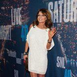 Sarah Palin en la fiesta 40 años de 'SNL'