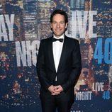 Paul Rudd en la fiesta aniversario de 'Saturday Night Live'