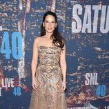 Lucy Liu en el 40 aniversario de 'Saturday Night Live'