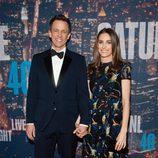 Seth Meyers y Alexi Ashe en los 40 años de 'SNL'