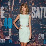 Taylor Swift en el 40 aniversario de 'Saturday Night Live'