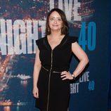 Rachel Dratch en la fiesta del 40 aniversario de 'SNL'