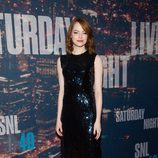 Emma Stone en la fiesta de 'Saturday Night Live'