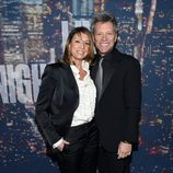 Jon Bon Jovi en la fiesta de los 40 años de 'Saturday Night Live'