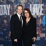Steve Buscemi en el 40 aniversario de 'Saturday Night Live'