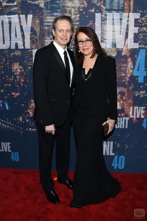Steve Buscemi en el 40 aniversario de 'Saturday Night Live'