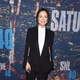 Olivia Wilde en la fiesta de 'Saturday Night Live'