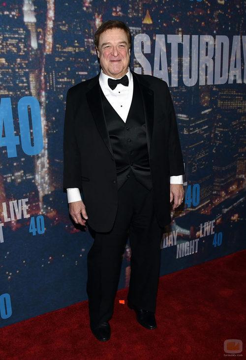 John Goodman en el aniversario de 'SNL'