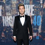 Lance Bass en el 40 aniversario de 'Saturday Night Live'