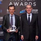 Pedro Duque y Antonio Fernández-Galiano en los Born to be Discovery Awards 2015