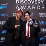 César Bona y Macaco en los Born to be Discovery Awards 2015