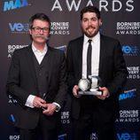 Miguel González-Andrades y Javier López en los Born to be Discovery Awards 2015
