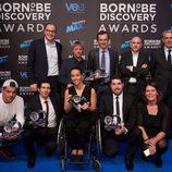 Los ganadores en los Born to be Discovery Awards 2015