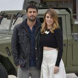 Blanca Suárez y Hugo Silva, en la presentación de 'Los nuestros'