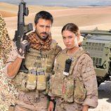 La pareja de actores españoles Hugo Silva y Blanca Suárez protagoniza 'Los nuestros'