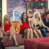Aguasantas, Chari, Ángela, Ylenia y Fede en 'GH VIP 3'
