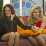 Ángela y Chari riéndose en 'GH VIP 3'