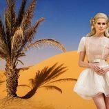 Adriana Abenia posa vestida de novia para la revista Lucía Se Casa