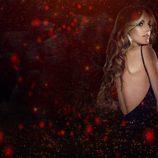 """Edurne durante un fragmento del videoclip de """"Amanecer"""""""