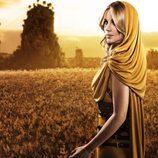 """Edurne, una guerrera helénica en el video de """"Amanecer"""""""