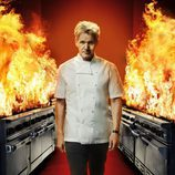 El chef Gordon Ramsay en 'Hell's Kitchen'