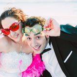 Foto de boda de Salva y Gloria en 'Casados a primera vista'