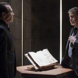 Juan Gea y Jaime Blanch en el cuarto episodio de 'El ministerio del tiempo'