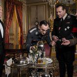 Ernesto junto a los nazis en el tercer episodio de 'El ministerio del tiempo'