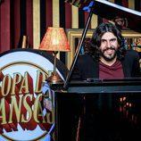 José Juan Vaquero al piano en 'Sopa de Gansos'