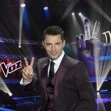 Jesús Vázquez presenta la tercera edición de 'La Voz'