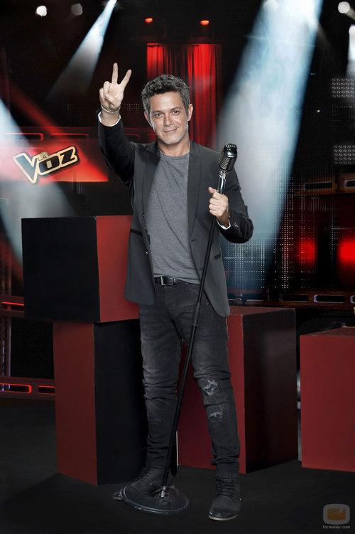 Alejandro Sanz, coach de 'La Voz 3'
