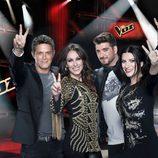 Los coaches de 'La Voz 3'
