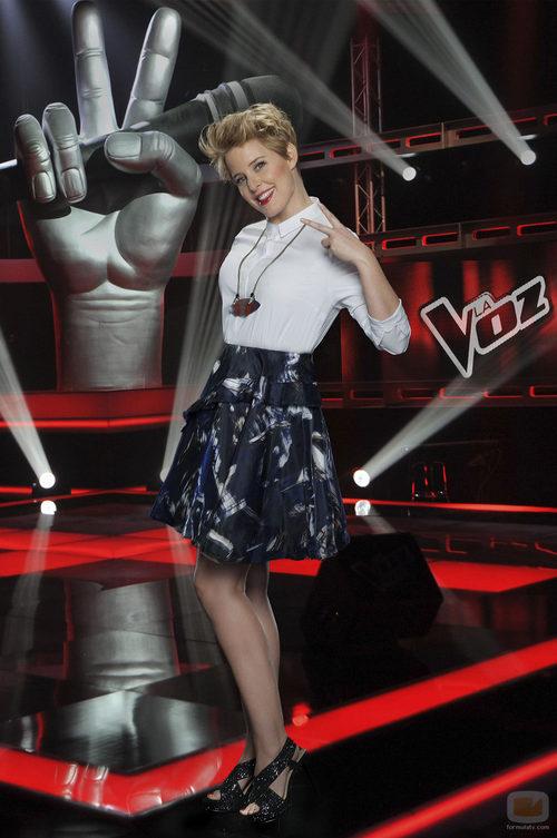 Tania Llasera vuelve a presentar 'La Voz 3'