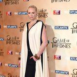 Gwendoline Christie en la premiere de la quinta temporada de 'Juego de tornos'