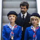 Irene, Amelia y Julián en el quinto episodio de 'El ministerio del tiempo'
