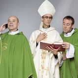 Paco, Julián y el Obispo Martínez Carrión