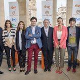 El equipo de 'Masterchef' en su presentación en el FesTVal Murcia