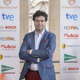 Pepe Rodríguez en la presentación de 'Masterchef 3' en el FesTVal de Murcia