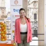 Samantha Vallejo-Nájera en la presentación de 'Masterchef 3' en el FesTVal de Murcia